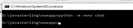 chat application python